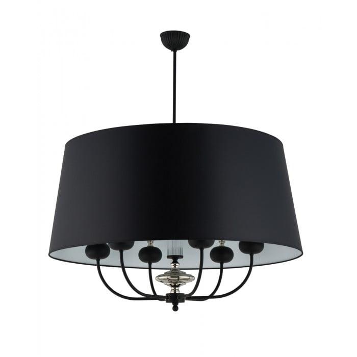 Lighting room NARNI extra large pendant light in black