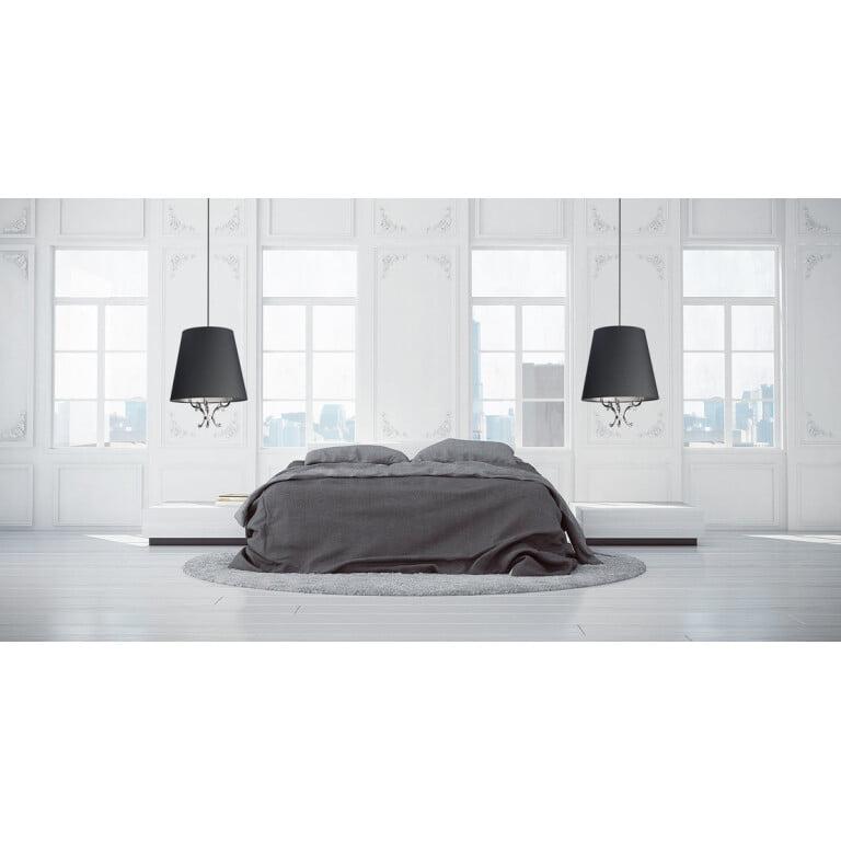 Bedroom lighting inspiration with luxury single pendant lights