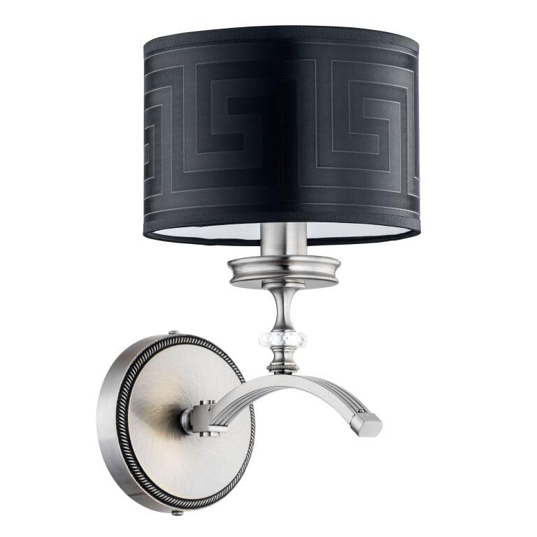 Bespoke lighting AVERNO Versace wall light nickel Swarovski crystal