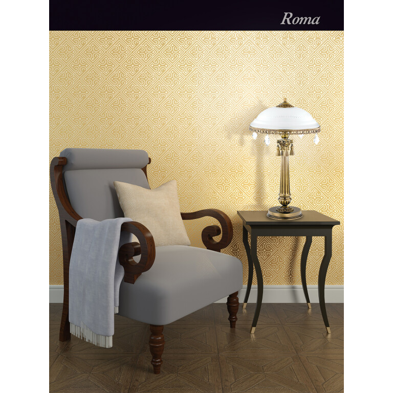 roma patina brass sculpture luxury table lamp slass shade with swarovski crystals classic design inspiration
