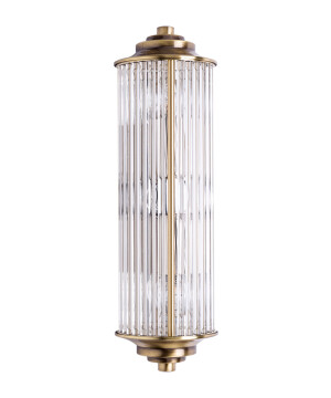 SIRI Glass Wall Light Brass Wall Sconce Light