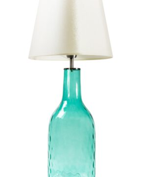 Alo Blue Glass Table Lamp-0