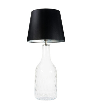 glass house LORD clear glass table lamp with shade