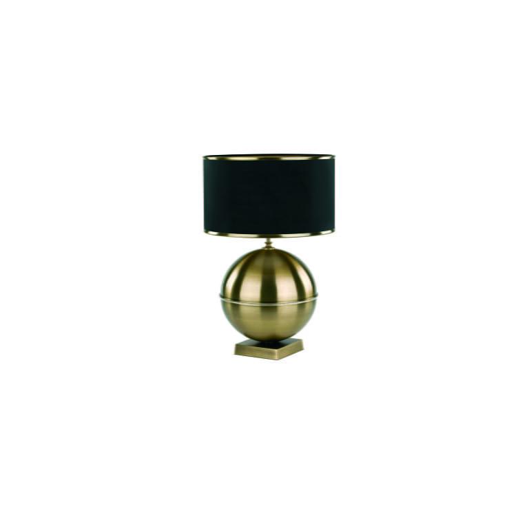 KIARA Swarovski Crystals Table Lamp Brass Bedside Table Lamp