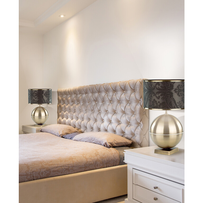 KIARA Swarovski Crystals Table Lamp Brass Bedside Table Lamp Inspiration