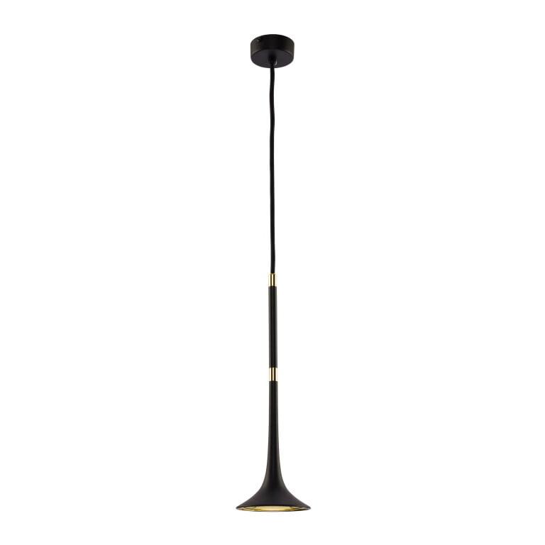 Black Loft Ceiling Pendant Light Brass lights
