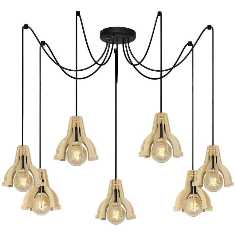 Vintage Filament Bulbs PAT Pendant Lighting-0