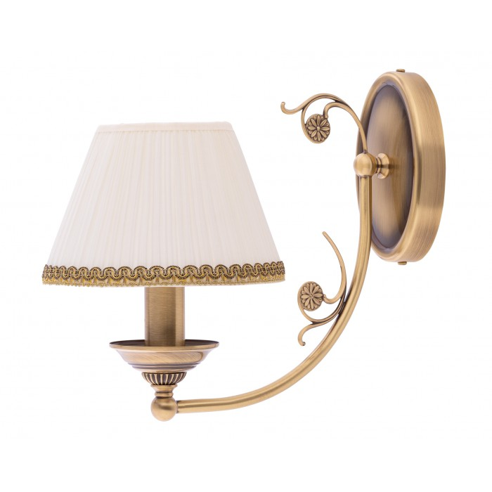 Bespoke lighting CASAMIA wall light fittings with pleated shade