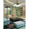 Patina Brass Luxury Chandelier 5 Arms Carino Glass Shades with Swarovski Crystals Pendant Light Inspiration