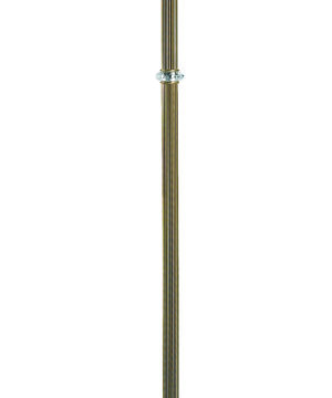 Brass Luxury Floor Lamp COCO Fabric Shade with Swarovski Crystals 3 Lights