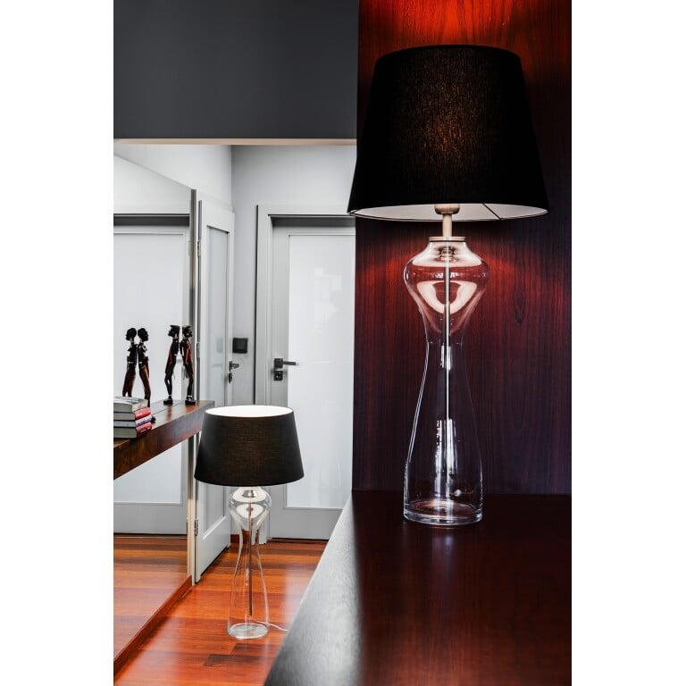 Glass Table Lamp HAV Transparent-4067