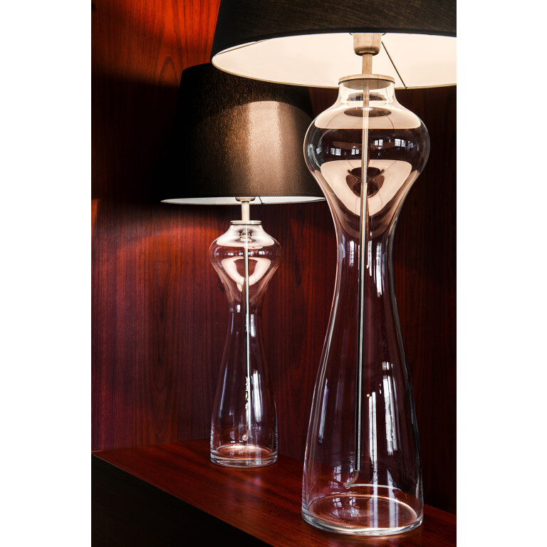 Glass Table Lamp HAV Transparent-4069