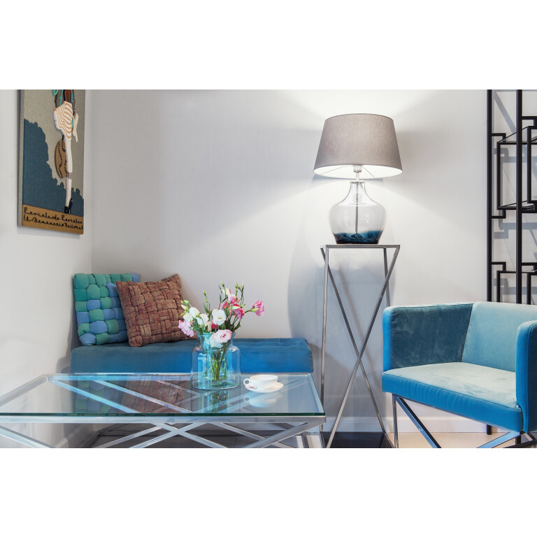 Glass Table Lamp MAD Blue-3946