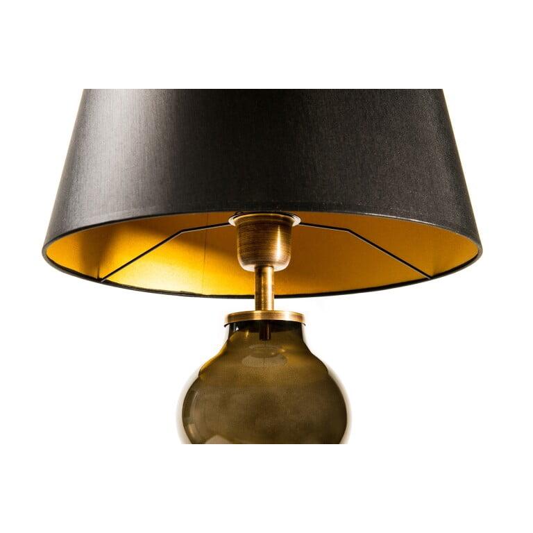 Glass Table Lamp HAV Brown-4060