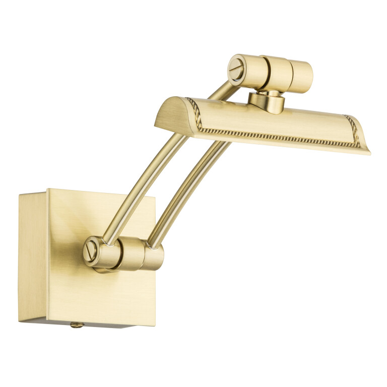 Brass Classic Style Picture Light ELVE Small