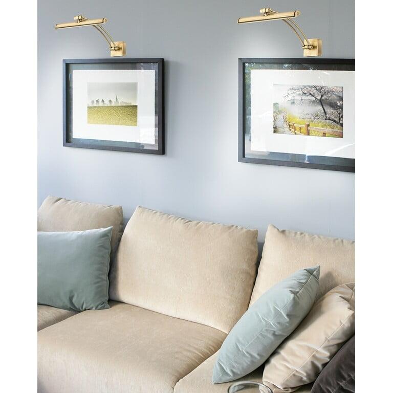 Brass Classic Picture Light ELVE Inspiration