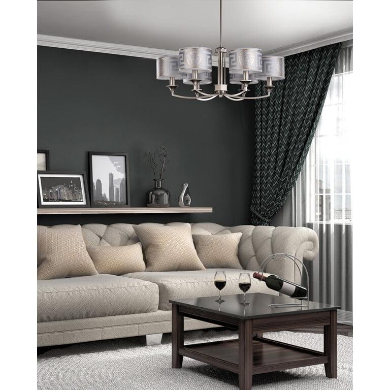 living room chandelier ideas DECOR VERSACE