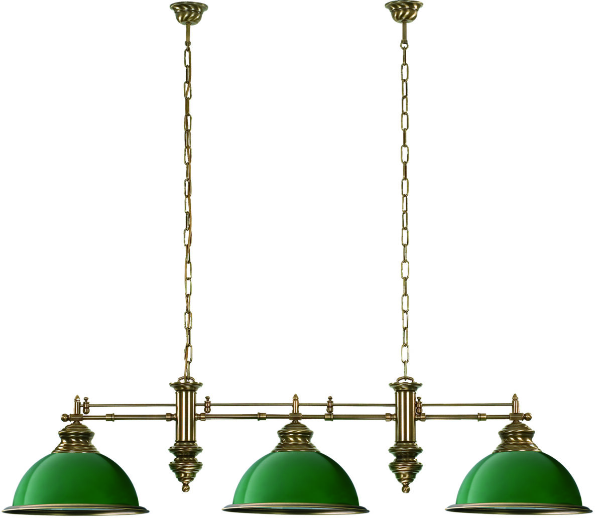 Snooker Table Lighting Lido Bar Ceiling Light Green Luxury Chandelier