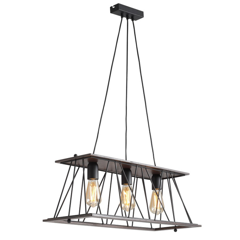 Bari Modern Pendant 3 Light Industrial Design