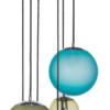 Pendant Light Semi Flush Ceiling 6 Lights BACAN MAT Glass Lamp Shade zoom