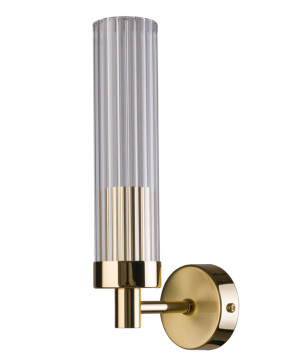 SETI Contemporary Wall Light Glass Lamp Shade Brass Wall Sconce Light Fixture