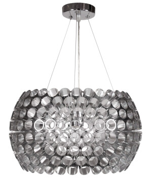 Futuristic Pendant Light Abros Silver Lamp Shade Single Pendant Lamp