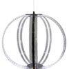 CANSAS Designer Lamp Unique Pendant Light 44 LED Lighting 35W Chrome zoom