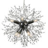 CAPELLA Designer Lamp Single Luxury Pendant Light 40 8X40W E14 Chrome zoom
