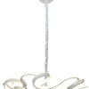 ILLA Designer Lamp White Pendant Light LED 50 CM 64W LED 6500K light on