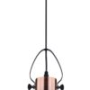 Vintage Style Copper Single Pendant Lighting Glass Lamp Shade VIDEO