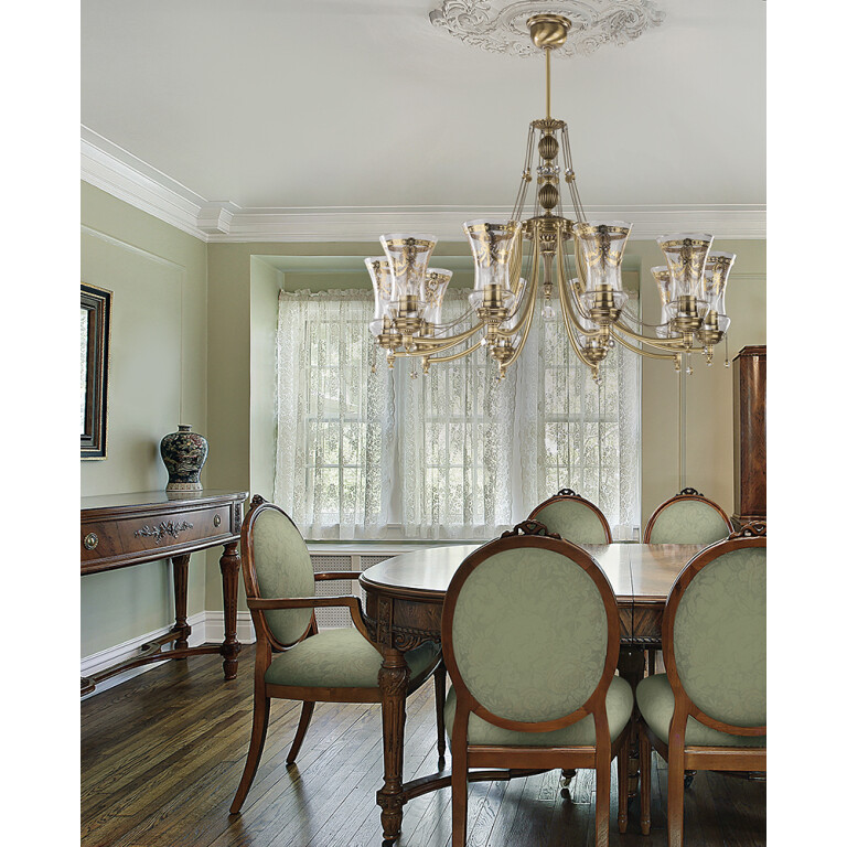dining room ideas with luxury chandeliers NICO 5 light