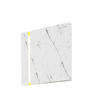Luxury marble wall light LECERTA with LED