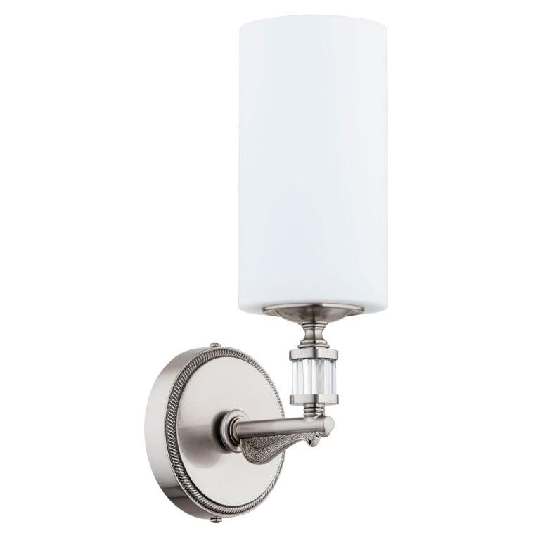 luxury wall lights MERANO brass with glass shade