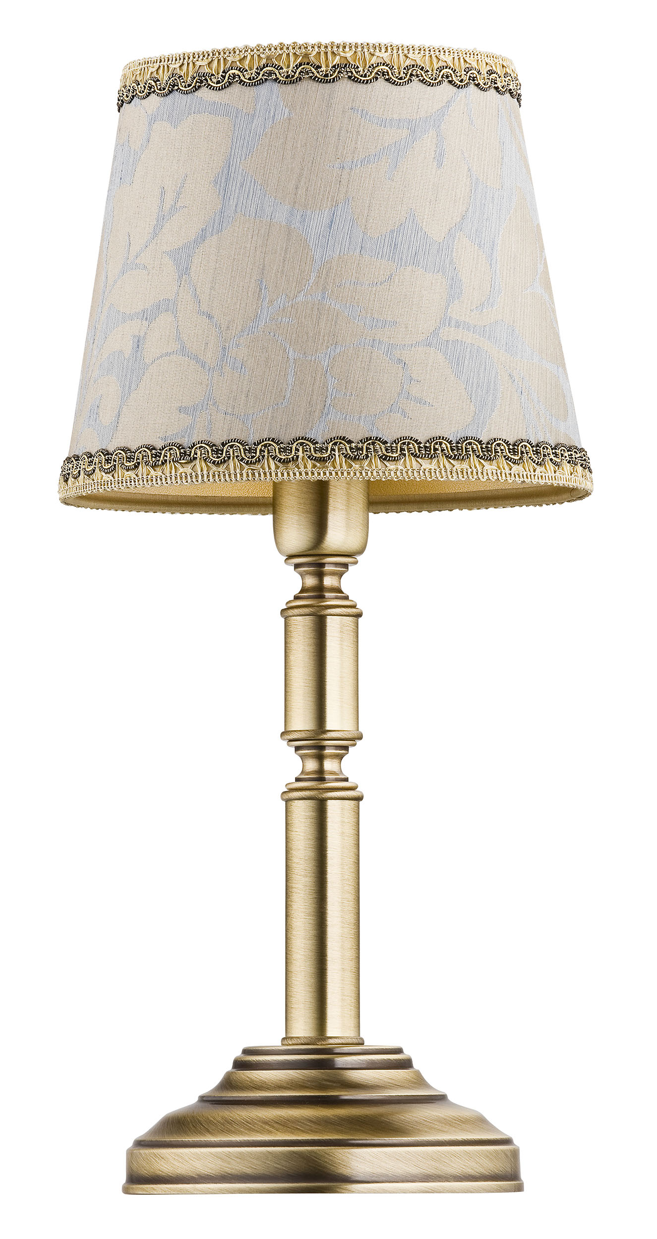 Picture of: Small Table Lamp Anthony Brass Base Pattern Shade Luxury Chandelier