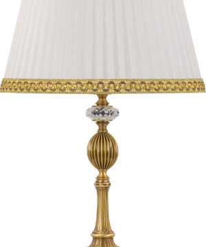 Luxury table lamp Nico with Swarovski crystals & fabric shades