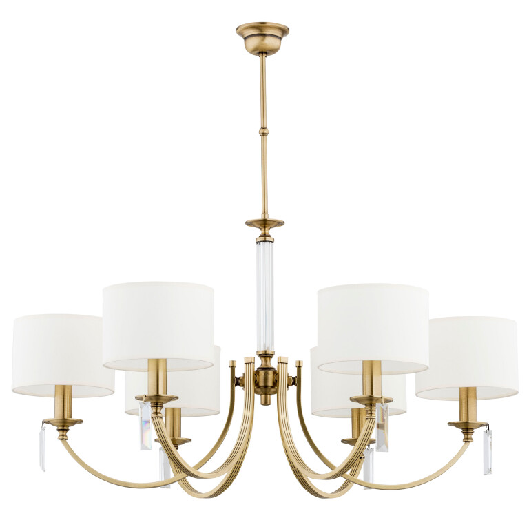 elegant chandelier lighting ZEVIO 6 lights bedroom