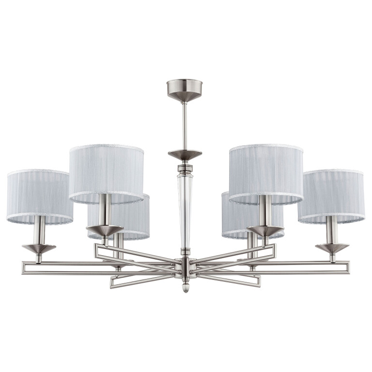 Luxury chandeliers ZOLA 6 light with shades