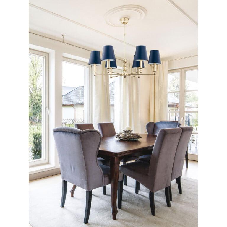 dining room ideas with luxury chandelier uk SARA