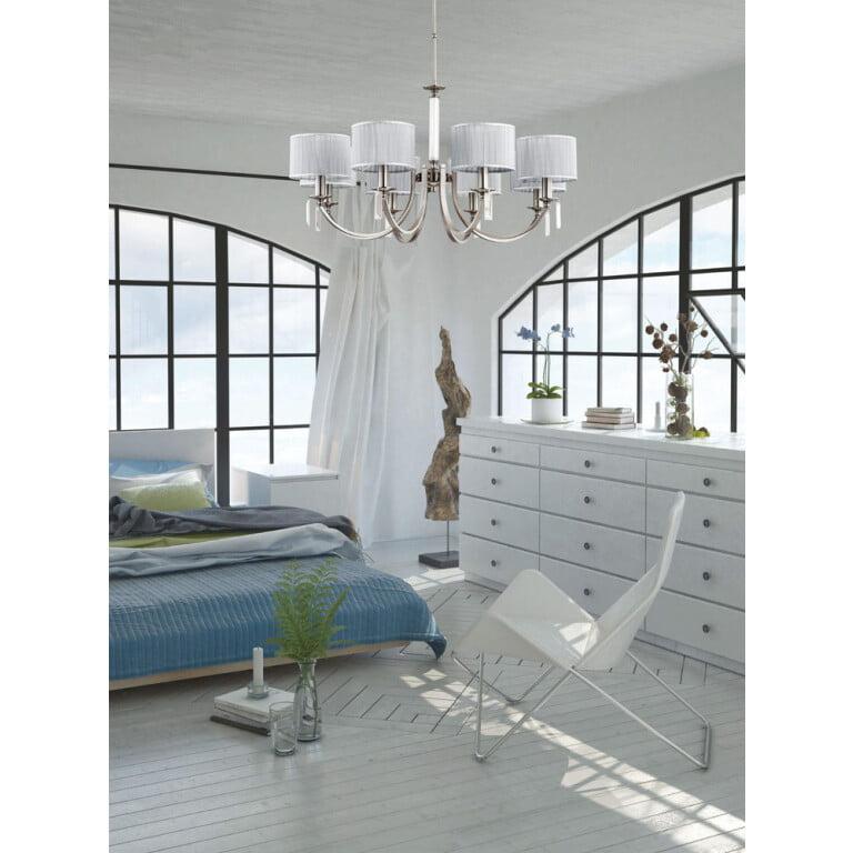 Bedroom chandeliers ideas for modern style