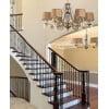 Hallway ideas with crystal chandelier MONZA