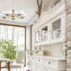 dining room ideas with 5 light chandelier HELEN