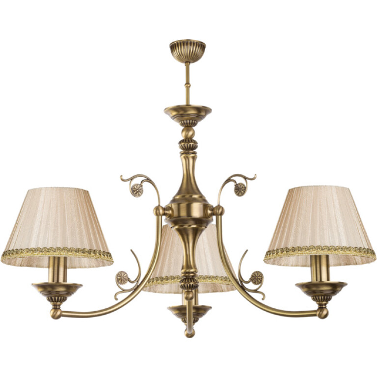 Bespoke lighting CASAMIA stylish handmade chandelier 3 light