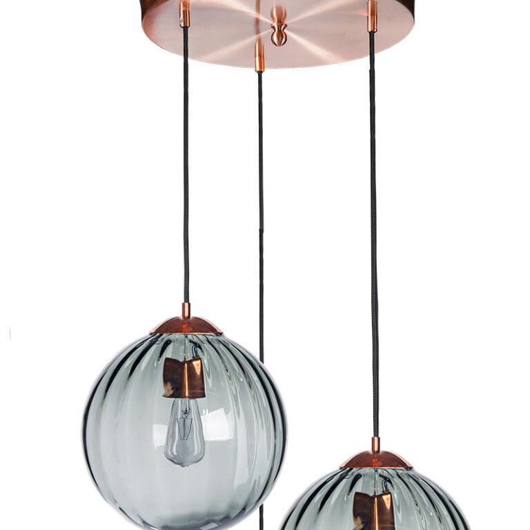 cluster glass pendant lighting ARA