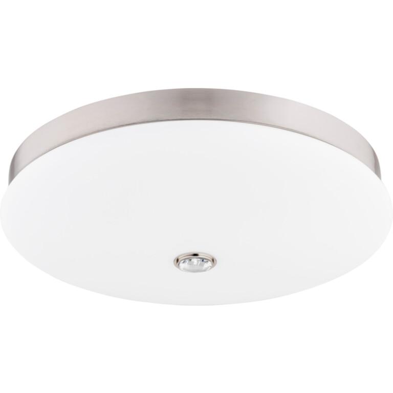 Bespoke lighting BELLAGIO 3 light ceiling light brushed nickel