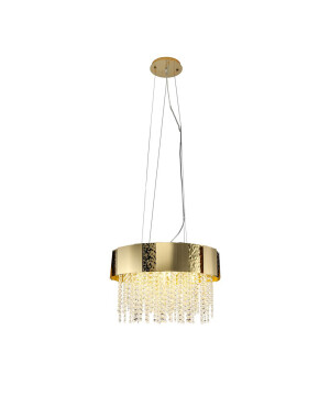 Crystal chandelier VENICE in gold finishes - glamour style