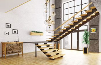 stairwell chandelier ideas with hand blown glass cluster pendant light ANUMA