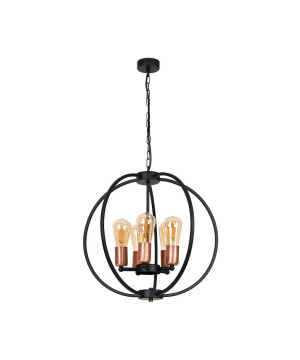 Vinatge pendant light OXFORD in black finishes