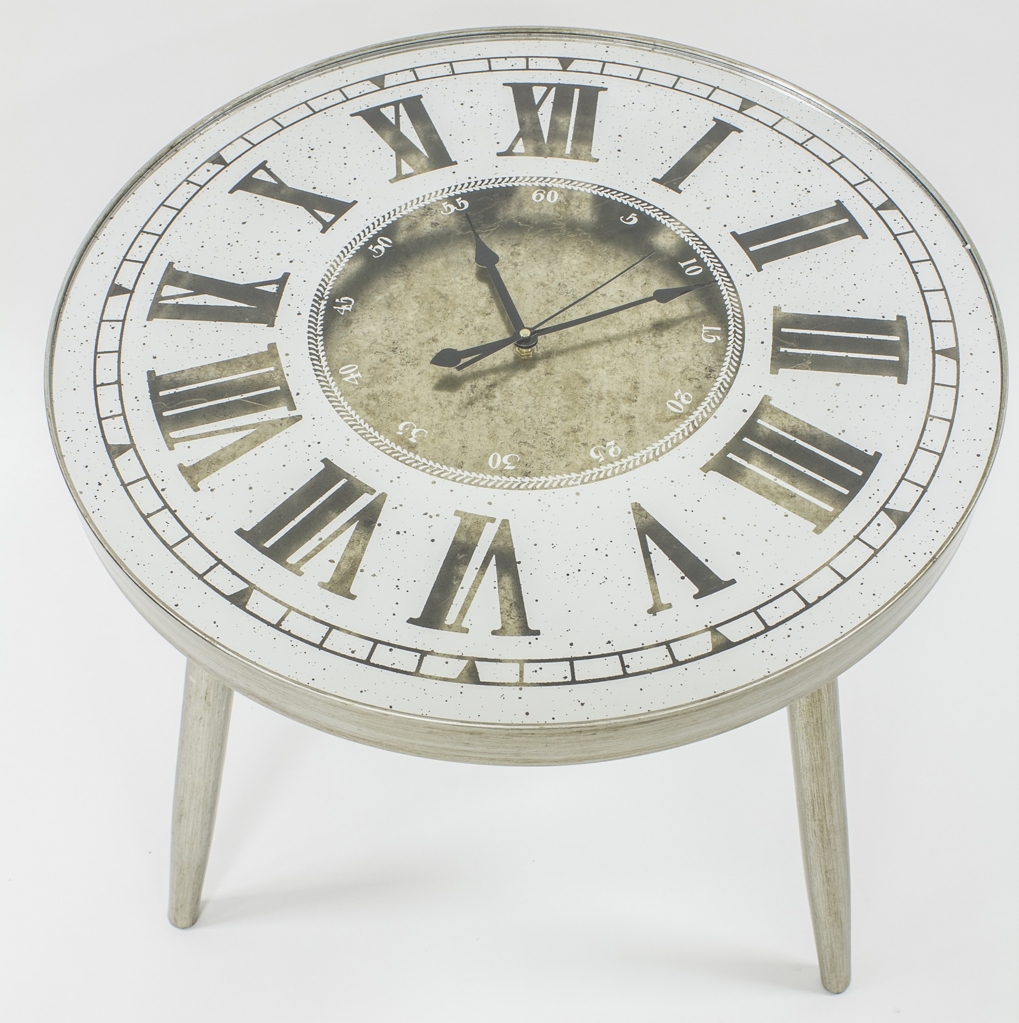 - Clock Face Occasional Coffee Table WELLINHALL - Luxury Chandelier
