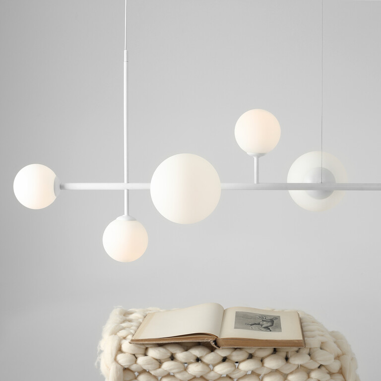 bar pendant lighting BALIA in white