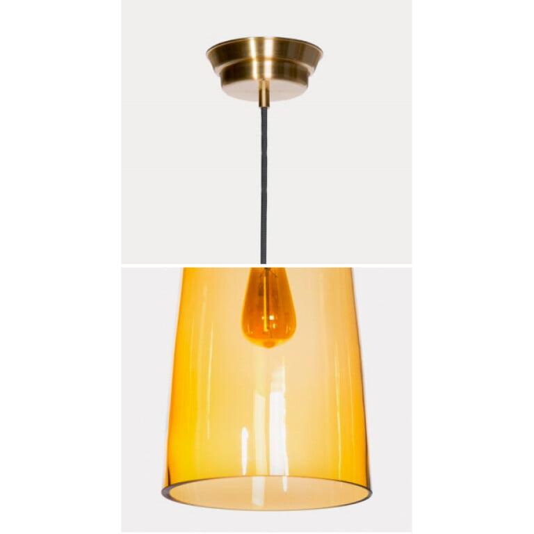 large glass lamp shade KING